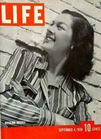 LIFE MAGAZINE SEPTEMBER 4 1939