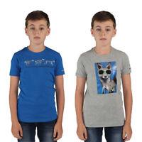 Dare2b Luck Of The Draw Kids Lightweight Cotton Printed T-Shirt