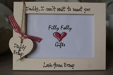 Personalised Photo Frame by Filly Folly Dad to Be Daddy Gift
