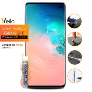Samsung Galaxy S10 S10e S10 Plus Nano Technology Liquid Screen Protector Clear