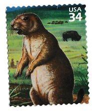 Us 3506d Great Plains Prairie Black-tailed prairie dog 34c single Mnh 2001