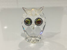 Swarovski Crystal Owl Figurine w/ Large Eyes