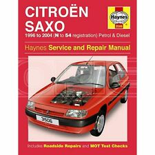 Haynes Citroen Saxo Petrol & Diesel (96 - 04) N to 54 Reg - Car Manual (3506A)
