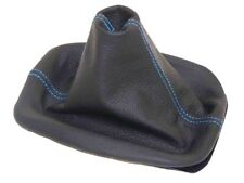Shift Boot For Volkswagen Jetta 1997 2003 Leather Blue Stitching Fits Jetta