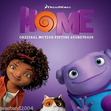 Home - Movie Soundtrack CD NEW & SEALED Rihanna , Charli XCX  Dreamworks Ost