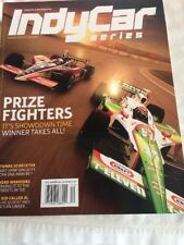 Indy Car Series Magazines October 1-3 2004 Autographs .
