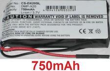 Batterie 750mAh Pour Gateway DMP-X20 MP3 player