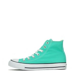 Converse Chuck Taylor All Star Hi Top Women's Trainers Shoes Plimsolls Green