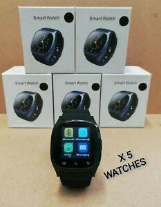 JOB LOT.....5 X M26 Smart Watch Bluetooth Sport Fitness Health Tracker Android
