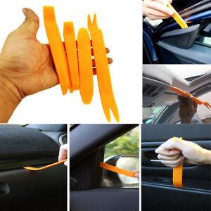 4PCS CAR TRIM REMOVAL TOOL KIT SET PANEL DOOR PLASTIC PRY DASH INTERIOR CLIP