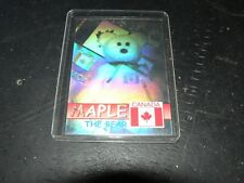 Ty Beanie Baby Retired Maple Card Series 2 Bboc cards # 19171/20001 Blue Canada