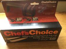 New listing Edge Craft Manual Diamond hone Knife Sharpener