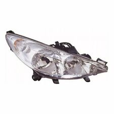 For Peugeot 207 Cc 5/2010 Headlight Headlamp Chrome Uk Drivers Side O/S