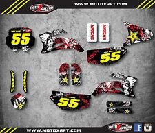 Pitster Pro LXR 09 GRAFFITI STYLE graphics stickers Full custom decal kit