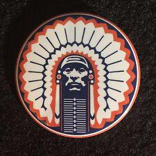 """Chief Illiniwek University of Illinois 2.25"""" Button/Pin - Fighting Ilini"""
