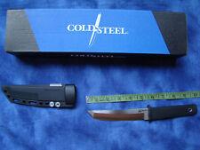 "Cold Steel Kobun Boot Knife 5 ½"" Blade  Black Kray-Ex Handle  and Sheath ~ NEW"