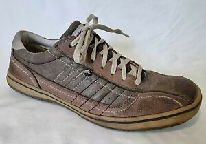 Wild Rhino CHEW Mens Shoes Aus 10, US 10.5 Brown Leather Casual Lace Up Sneakers