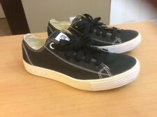 Converse All Star Lo Platform Women' Sz 6 Sneaker Shoes Black Canvas