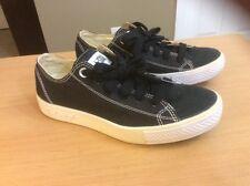Converse All Star Lo Platform Women' Sz 6 Sneaker Shoes Black Canvas