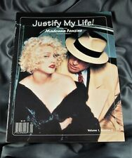 MADONNA Justify My Life Magazine Fanzine 1993 issue 2 Erotica Sex Book era