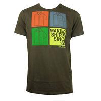 Mens Ben Sherman Retro Mod Fit Sixties 60s Top Indie Skin T-Shirt Tee Size XS-XX