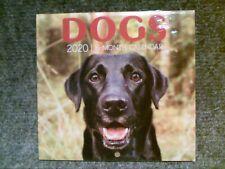2020 Mini 16 Month Wall Calendar-Dogs