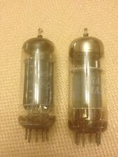 Lot of 2 12BH7A vacuum tubes RCA & Channel Master Made in USA & Japan