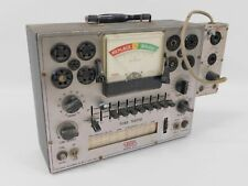 Eico 625 Vintage Tube Tester With 610 Compactron Novar Adapter Untested