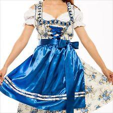 0701..- Dirndl Trachtenkleid 3Tlg. Oktoberfest Gr.34 bis 52 !!ORIGINAL LIFOS!!