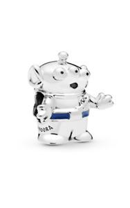 Genuine Pandora Sterling Silver Toy Story Alien 798045EN82 ALE 925
