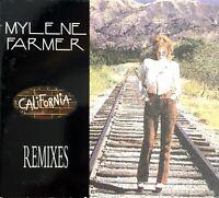 CD MAXI SINGLE DIGIPACK MYLENE FARMER CALIFORNIA REMIXES RARE COLLECTOR 1996