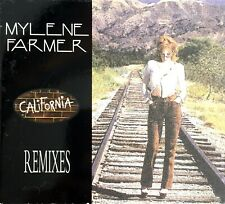 CD MAXI SINGLE DIGIPACK MYLENE FARMER CALIFORNIA REMIXES RARE COLLECTOR 1996