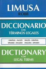 Diccionario de Terminos Legales (Edicion bilingue: espanol-ingles)