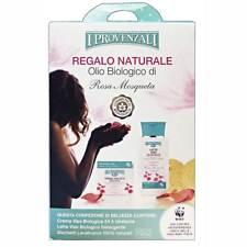 I Provenzali Set Regalo Con Olio Biologico Crema + LatteViso + Dischi Levatrucco