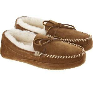 Polo Ralph Lauren Brown Suede Slippers size 10UK/ 44EU
