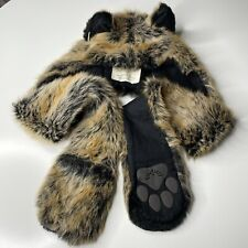 Spirithoods Red Wolf 2011-2012 Faux Fur Scarf Hat Ears