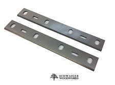 "6"" inch Jointer Blades Knives for Delta Bench Model 37-070 & JT160, Set of 2"
