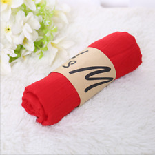 New listing fashion red Style Lady Girls Womens Scarves Soft Cotton Scarf Wrap Shawl H7501
