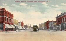 Wahpeton North Dakota Dakota Avenue 1917