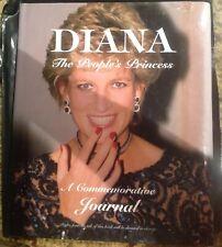 Princess Diana Commemorative Journal Hardcover Photo Book Rare