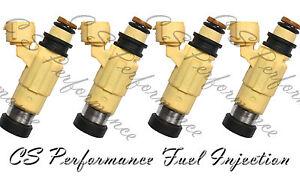 4x OEM Fuel Injectors for 2001-2005 Mitsubishi Eclipse 2.4L 2.4 2002 2003 2004