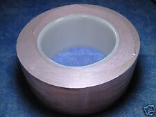 "50mm 2"" x 30M Copper foil Adhesive tape EMI shielding"