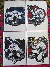 "Tmnt Ninja Turtles 4pc 13""x19"" Wall Canvas Print Poster Set Js * Only 1 on eBay!"