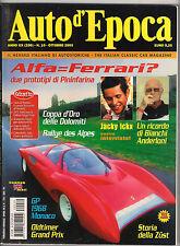 10/2003 AUTO D'EPOCA ICKX ANDERLONI FERRARI ZUST BOLOGNA RATICOSA 100 ORE MODENA