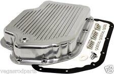 Polished Aluminum 400 Transmission Pan drain plug GM Chevy Turbo chevrolet trann