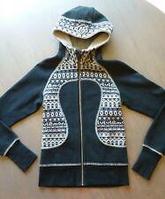 Lululemon Special Edition Scua Hoodie black/gray Fair Isle zip up jacket warm 4