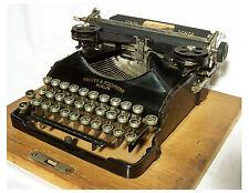 Schreibmaschine typewriter macchina da scrivere SENTA 3 Portable 1912 mit Koffer