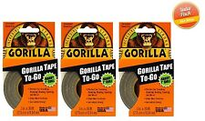 "Gorilla Glue Tape To Go - Handy Roll 1"" x 30', Duct Tape - 3 PACK"