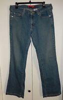 Levi's 545 Nouveau Low Slim Boot Cut Jeans Size 10 Medium (33 x 31)