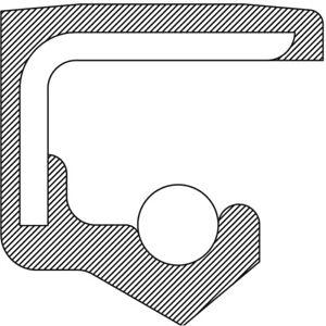 Engine Oil Pump Seal-Transfer Case Shift Shaft Seal National 221710